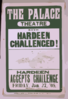 Hardeen Challenged! ... Hardeen Accepts Challenge, Friday, Jan. 17,  05 Clip Art