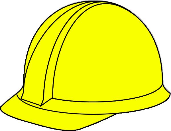 yellow hard hat clipart - photo #1