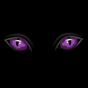 Scary Eyes In The Dark Clip Art