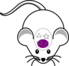 Mouse Infusion Purple Clip Art