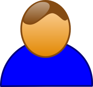 Blue People Clip Art