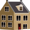 Village House Clip Art