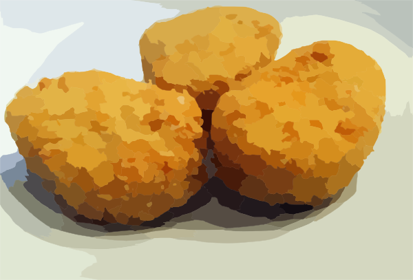 clipart of chicken nuggets - photo #10