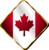 Canadian Pin Clip Art
