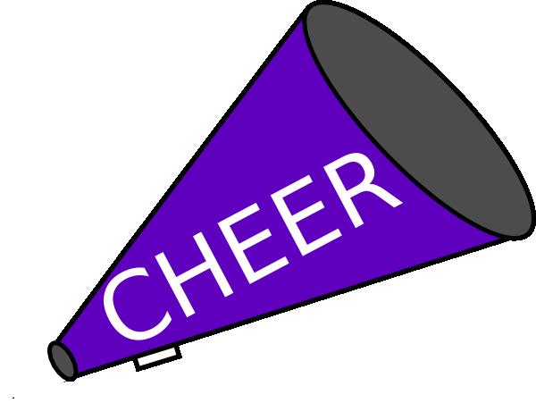 megaphone blue clip art at clker com vector clip art online rh clker com cheerleader megaphone clipart