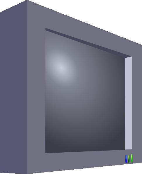 Flatscreen Tv Clip Art at Clker.com - vector clip art ...