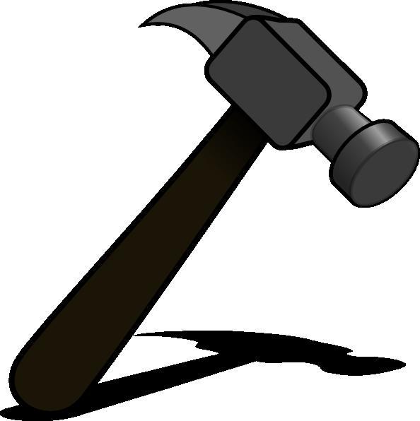 Hammer Clipart Black And White