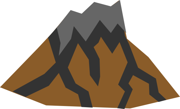 volcano clip art at clker com