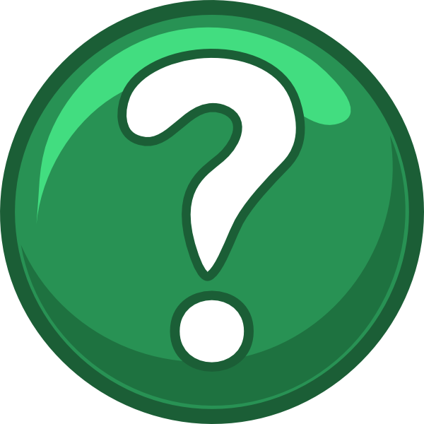 Green Question Round Icon Clip Art at Clker.com - vector ...