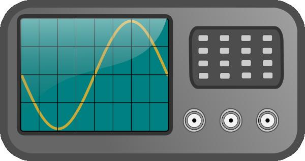 Oscilloscope Image Of B : Oscilloscope clip art at clker vector