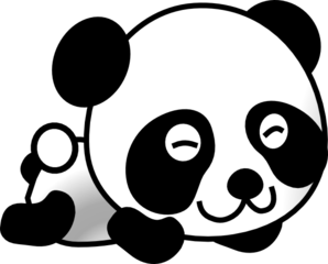 Cartoonpanda2 Clip Art