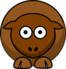 Sheep - Chocolate Browns Clip Art
