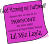 Layla Morning Clip Art