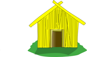 Straw House Clip Art