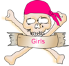 Girl Pirate Clip Art