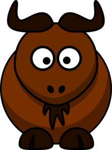 Bison mascot clipart - photo#24