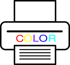 Color Printer Clip Art