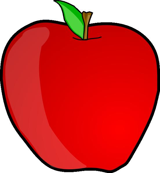 Apple Clip Art at Clker.com - vector clip art online ...