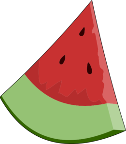 watermelon slice wedge clip art at clker com vector clip art rh clker com