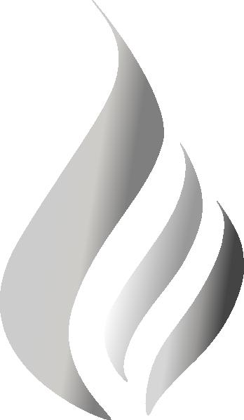 Silver flame clip art at clker com vector clip art