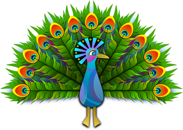 Peacock Clip Art At Clker