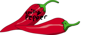 Chilly Pepper 1 Clip Art