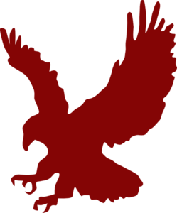 Crimson Eagle Clip Art