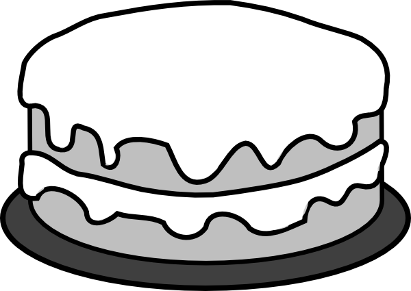 Cake Clipart Top View : Cake Clip Art at Clker.com - vector clip art online ...