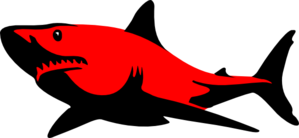 Red.shark Clip Art
