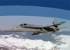 An F/a-18c Hornet Assigned To The  Rough Raiders  Of Strike Fighter Squadron One Two Five (vfa-125) Flies Over The Sierra Nevada Mountains. Clip Art