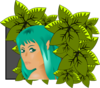 Green Fairy Clip Art