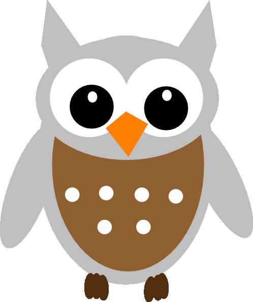 brown owl clip art at clker com vector clip art online royalty rh clker com Hedgehog Clip Art Green Owl Clip Art