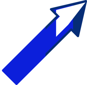 Arrow Up Right 2 Clip Art