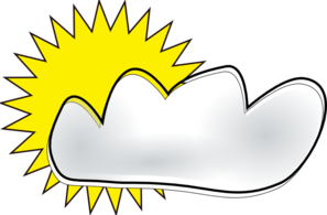 Partly Cloudy Clip Art