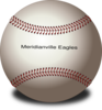Merdianville Eagles Baseball Clip Art