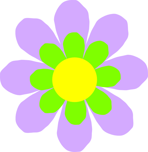 Lilac Flower Clip Art at Clker.com - vector clip art ...