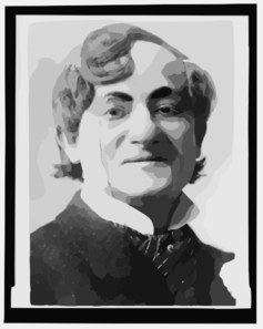 [sam Bernard, Head-and-shoulders Portrait, Facing Right, Wearing Monocle, As Herman Schultz In The Girl And The Wizard] Clip Art