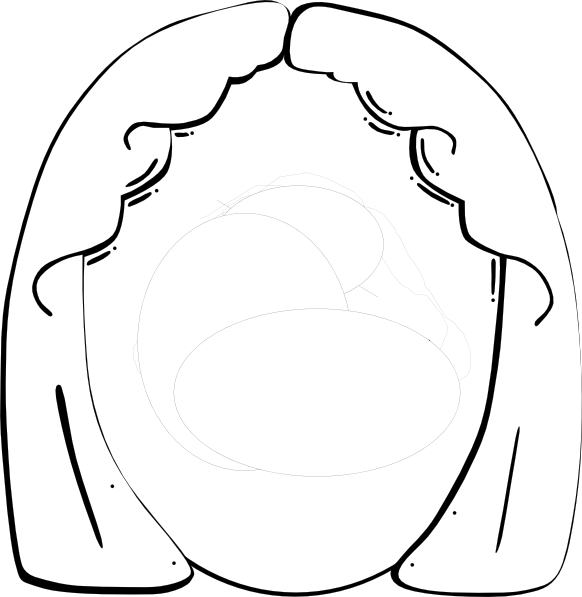 A Woman Head Base Coloring Coloring Pages