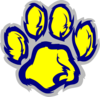 Willard Wildcat Paw Clip Art