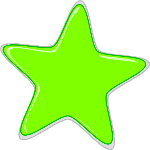 Green Star Edited2 Clip Art at Clker.com - vector clip art ...