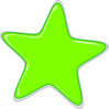 Green Star Edited2 Clip Art