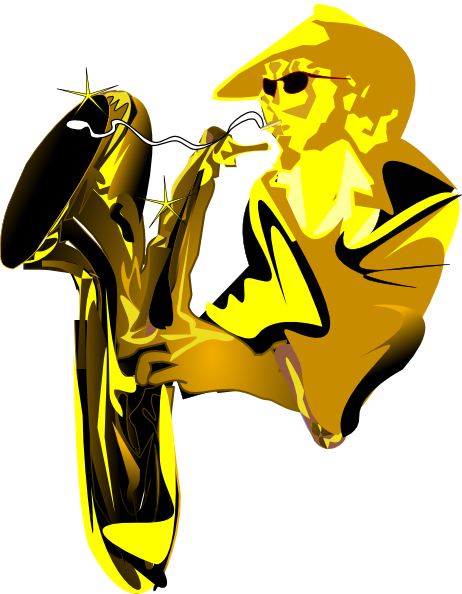 sax player clip art at clker com vector clip art online royalty rh clker com