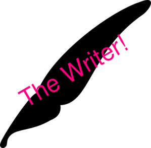 The Writer! Clip Art