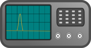 Oscilloscope-pulse Clip Art