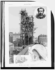 The Bartholdi Statue Of Liberty  / Drawn By John Durkin. Clip Art