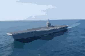 Uss John C. Stennis (cvn 74) Underway Off The Coast Of Southern California. Clip Art