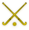 Mohawk Field Hockey Sticks Clip Art