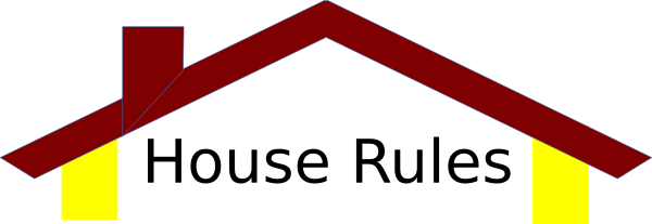 house rules clipart - photo #1
