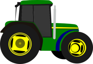 Greentractor Clip Art