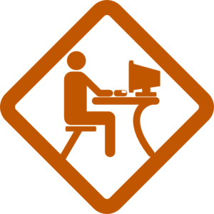 Man Working Clip Art